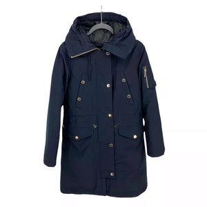 Michael Kors Down Coat Hooded Long Parka Jacket